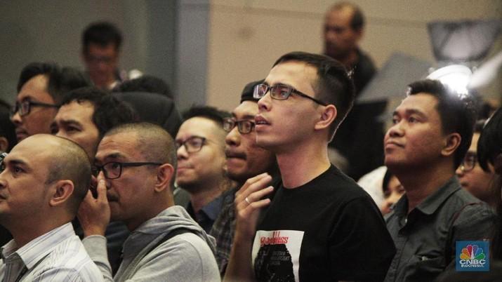 Investor milenial di BEI/CNBC Indonesia/Tahir Saleh