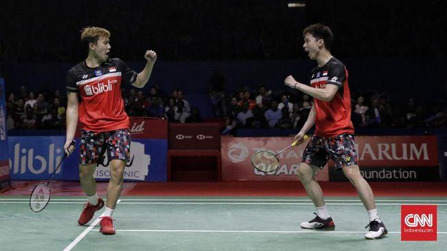 Kevin/Marcus vs Choi/Seo di Kejuaraan Dunia