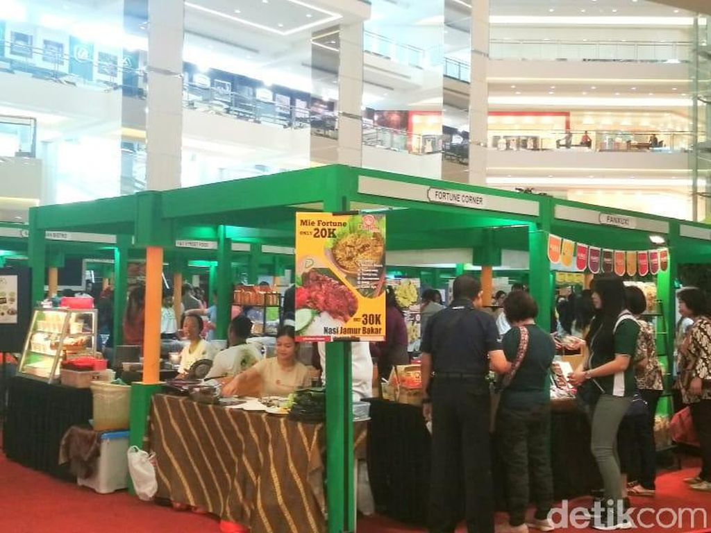 Festival Gaya Hidup 'Vegan' Digelar di Mal Taman Anggrek