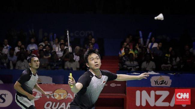 Hendra Mencari Kado Ulang Tahun di Final Kejuaraan Dunia