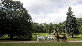 FOTO: Peternakan Kuda di Ceko Jadi Situs Warisan Dunia UNESCO