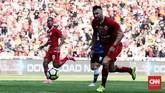 Penyerang Persija Jakarta Marko Simic gagal mencetak gol di laga ini. (CNN Indonesia/Andry Novelino)