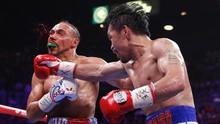 FOTO: Pacquiao Rebut Gelar WBA Super di Usia 40