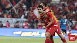 FOTO : Persija Menang Tipis di Leg 1 Final Piala Indonesia