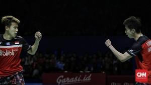 Hasil Kejuaraan Dunia: Kevin/Marcus Tersingkir