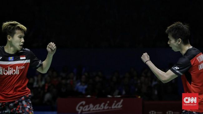Live Streaming Thailand Open Kevin/Marcus vs Endo/Watanabe
