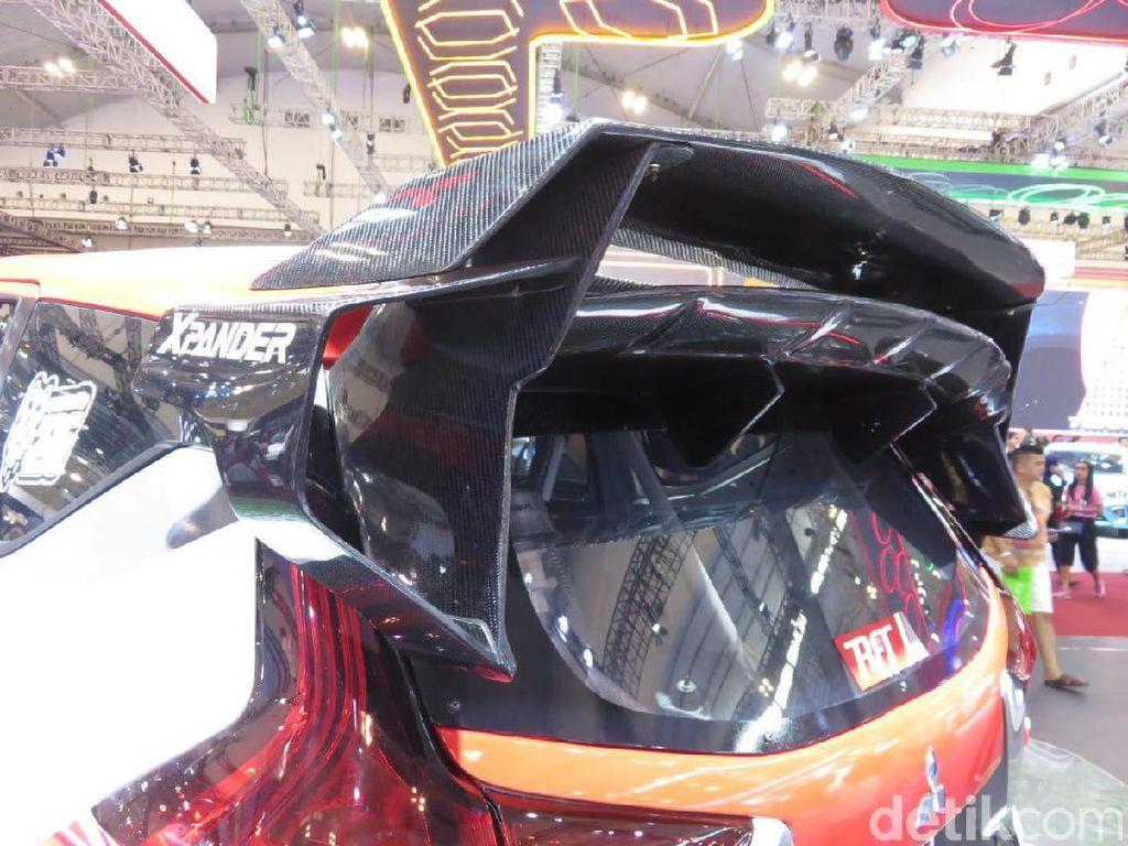 Mobil ini sebelumnya sempat dipamerkan dalam bentuk konsep di ajang Indonesia International Motor Show (IIMS) beberapa bulan lalu. Dan hasil yang siap digunakan, meski ada beberapa penyempurnaan lagi, sedang ditampilkan di GIIAS 2019. Foto: Rangga Rahadiansyah