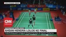 VIDEO: Ahsan-Hendra Lolos Ke Final