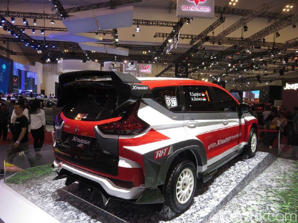 Rifat melihat sasis yang digunakan Xpander mengadopsi konstruksi dari Mitsubishi Lancer Evo X yang menjamin handling mobil ini lebih baik. Foto: Rangga Rahadiansyah