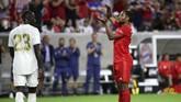 Serge Gnabry berhasil memperlebar keunggulan Bayern Munchen menjadi 3-0 di menit ke-67. (Kevin Jairaj/USA TODAY Sports)