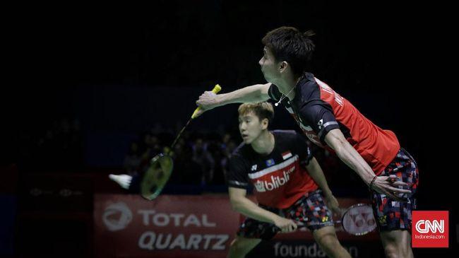 Tersingkir dari Thailand Open, Kevin/Marcus Tetap Puas