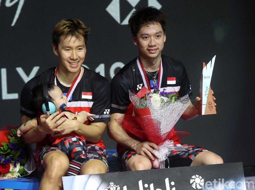 Menangi Perang Saudara, Kevin/Marcus Juara Indonesia Open