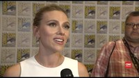 VIDEO: 'Black Widow' Singgung Isu Kesetaraan di Comic-Con
