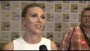 VIDEO: 'Black Widow' Singgung Isu Kesetaraan di Comic-Con