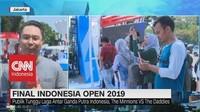VIDEO: Jelang Final Indonesia Open 2019