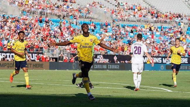 ICC 2019: Arsenal Kalahkan Fiorentina 3-0, Nketiah Dua Gol