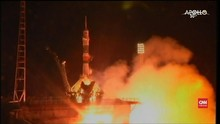 VIDEO: Rayakan Misi Apollo 11, Tiga Angkasawan Terbang ke ISS