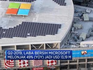 Kinerja Microsoft Lampaui Ekspektasi