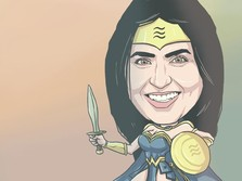 Ini Morgan Beller, 'Wonder Woman' di Balik Facebook Libra