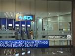 BBCA Sentuh Harga Saham Tertinggi Sejak IPO