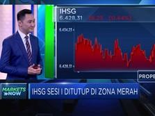 Aksi Profit Taking Warnai Kinerja IHSG