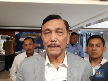 Menteri Luhut Sebut Bos SoftBank Bertemu Jokowi Senin