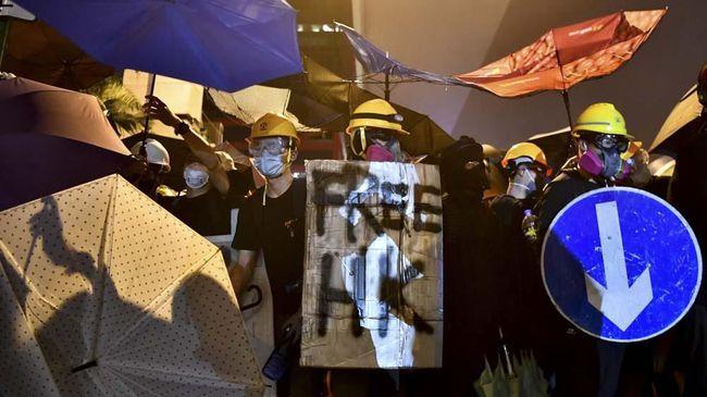 Aksi Solidaritas Demo Hong Kong di Malaysia Diusut Polisi
