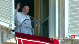 VIDEO: Paus Fransiskus 'Rayakan' 50 Tahun Misi Apollo 11