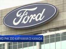 Penjualan Lesu, Ford Bersiap PHK Karyawan