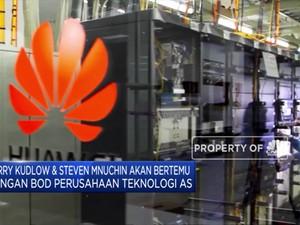 Bahas Huawei, Gedung Putih Undang CEO Perusahaan Teknologi