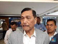 Ssst...Luhut Bisikkan ke Jokowi Agar RI Tak Impor Garam