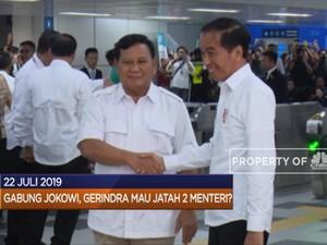 Gabung Jokowi, Gerindra Minta Jatah 2 Menteri?