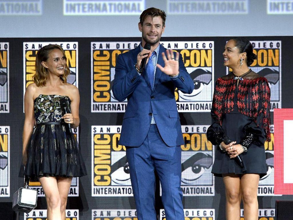 Film Thor: Love and Thunder akan diisi oleh Chris Hemsworth, Tessa Thompson dan Natalie Portman.Kevin Winter/Getty Images