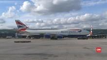 VIDEO: British Airways Tangguhkan Penerbangan Ke Kairo