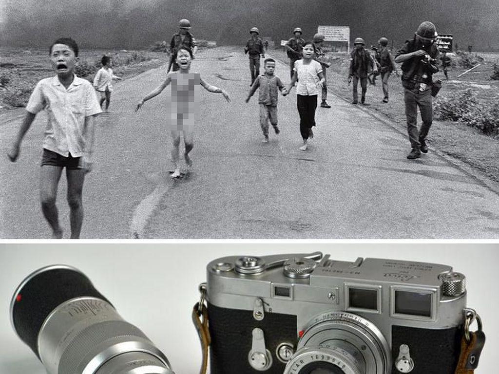 The Terror Of War (1972) karya Nick Ut, 1972 menggunakan kamera Leica M3 Foto: Bored Panda