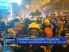 Bentrok, Pempimpin Hong Kong Sesalkan Aksi Demonstran