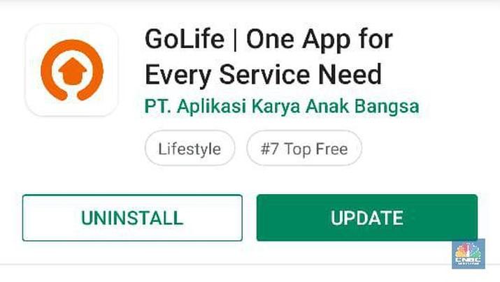 Gojek hapus lima layanan GoLife