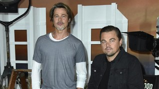 Brad Pitt dan DiCaprio Berduet dalam 'Perubahan' Hollywood