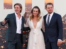 Gaya Kece Brad Pitt & Leonardo di Premiere Once Upon a Time