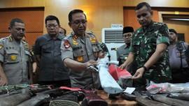 Tim TNI-Polri Temukan Bungker dan Narkoba di Markas SMB Jambi