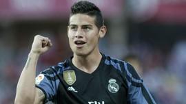 Banyak Pemain Cedera, Madrid Enggan Lepas James