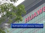 Melunak, Trump Longgarkan Sanksi untuk Huawei
