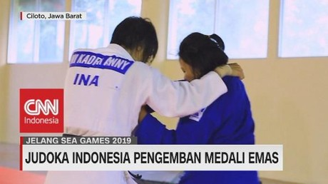 VIDEO: Judoka Indonesia Pengemban Medali Emas