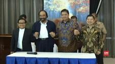 VIDEO: Koalisi Jokowi Sepakat Tak Perlu Ada Tambahan Partai