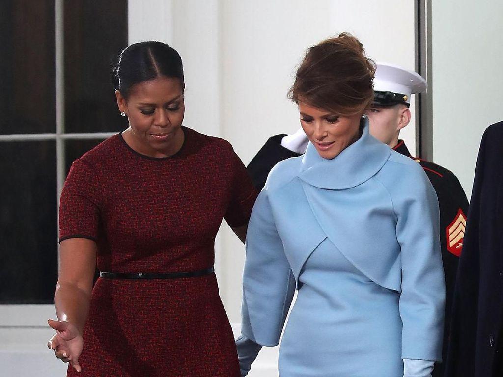 Ditanya Soal Gaya Melania Trump, Anna Wintour Malah Puji Michelle Obama