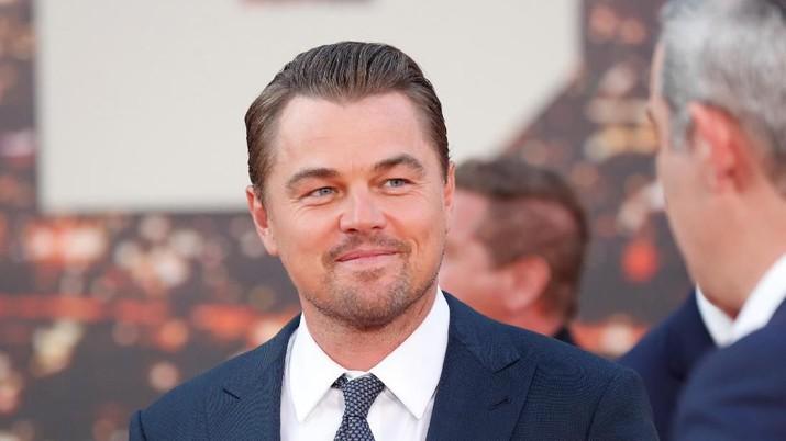 Leonardo DiCaprio attends the premiere of