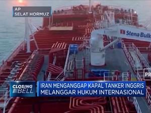 Kapal Tanker Inggris Disita Iran