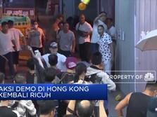Demonstran Hong Kong Diserang Kelompok