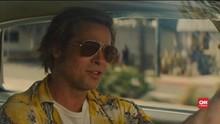 VIDEO: Brad Pitt Mengaku Hampir Tabrak Kru Film saat Syuting