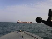 Kapal Perang AS Sita 150 Rudal di Laut Arab, Milik Iran?